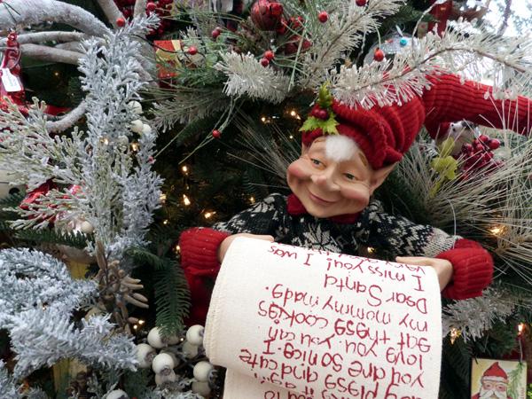 Christmas Elf- Garden Supply Co
