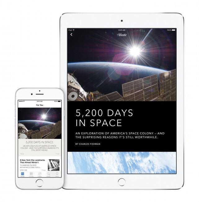 Apple News Producer articles via Apple