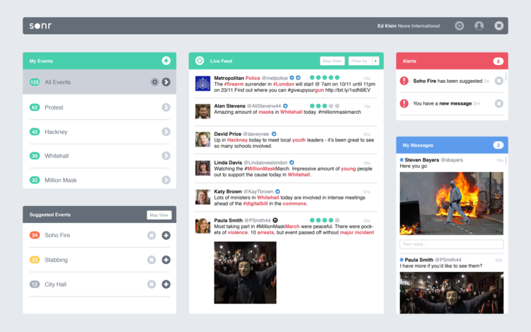 The initial Bootstrap mockup which raised Seed