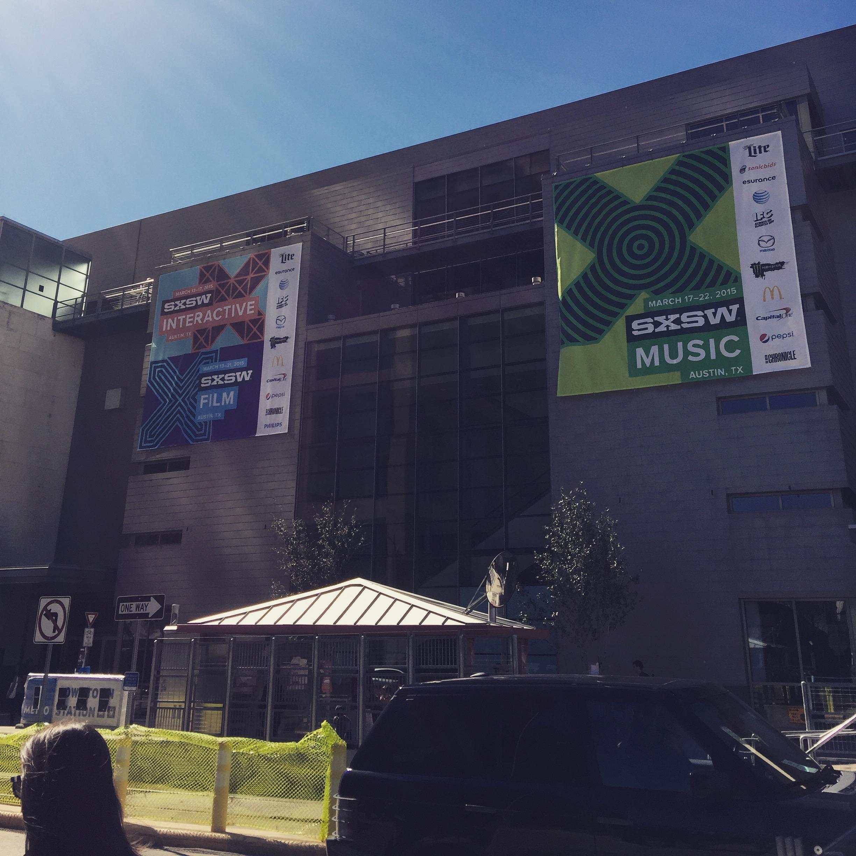 Visting SXSW 2015 Austin TX