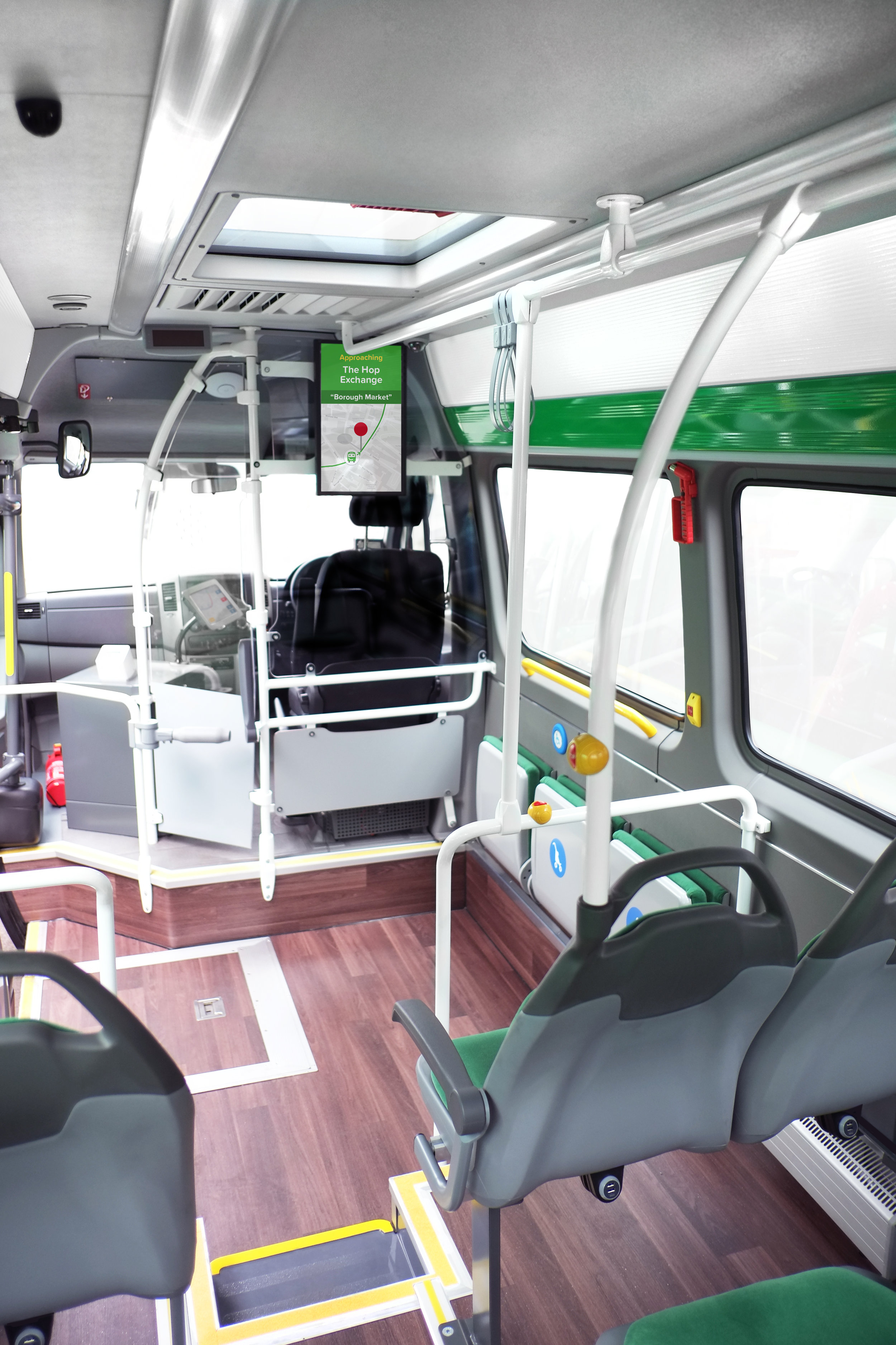 SmartBus interior