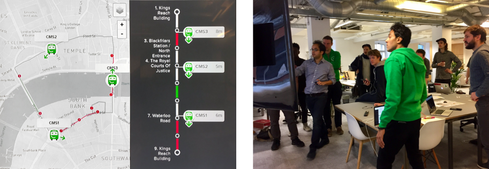 The Smartbus Boss View, allowing network controllers visibility over their headways