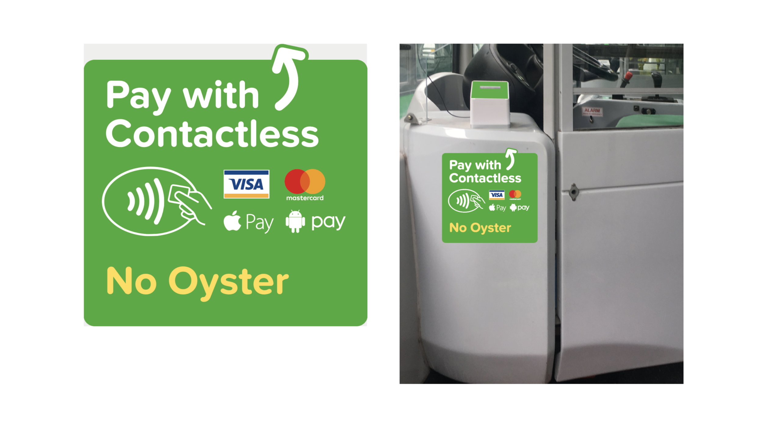 Payment UX is crucial in transit, along with payment wayfinding