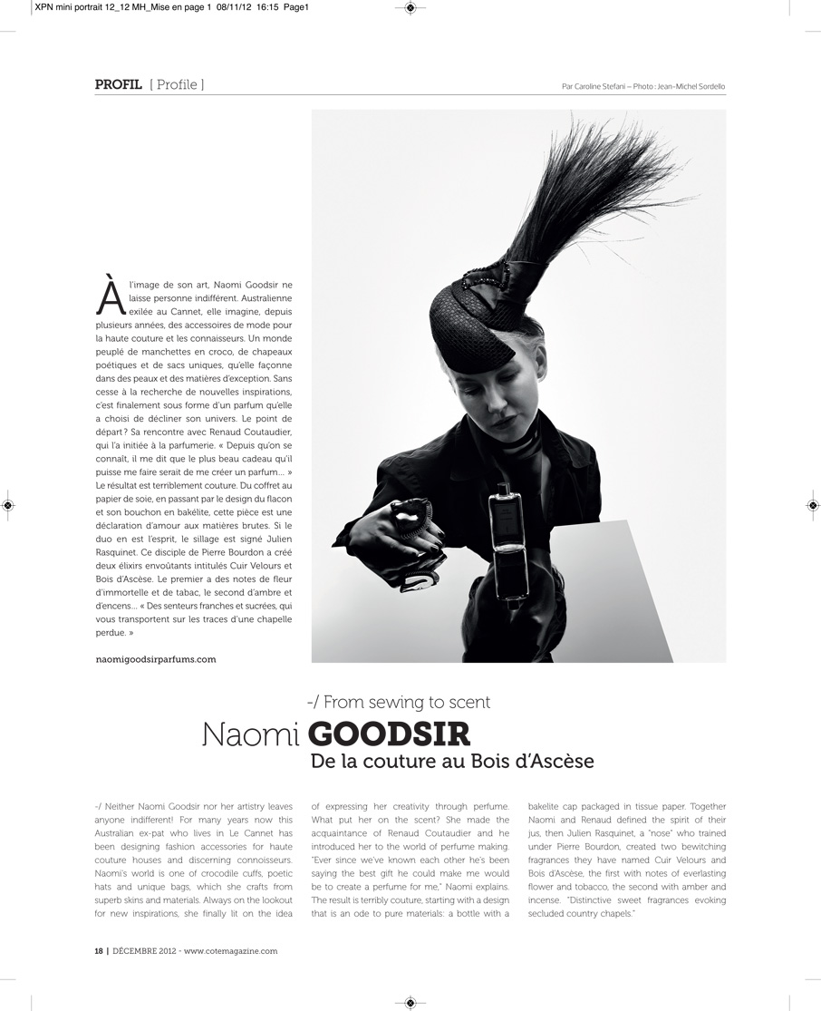Copy of COTE MAGAZINE, France