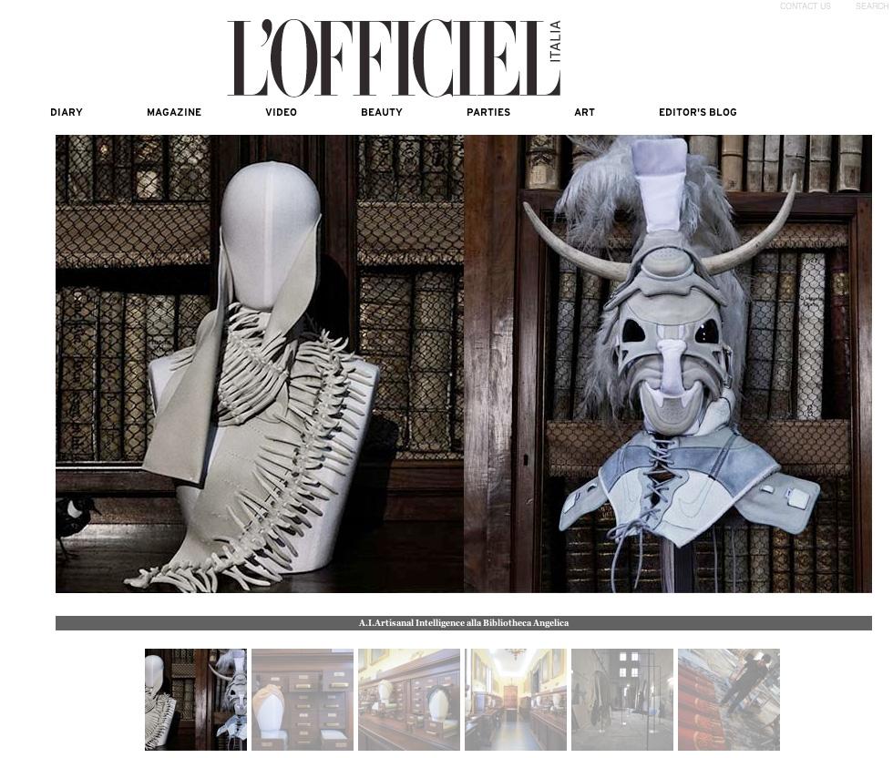 Copy of L'OFFICIEL, Italy