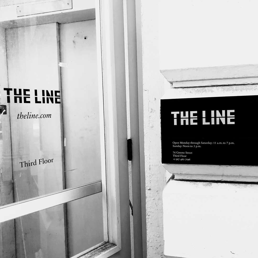 One of our retailers on 76th Greene Street, 3rd floor.   The Apartment by The Line  .      https://theline.com