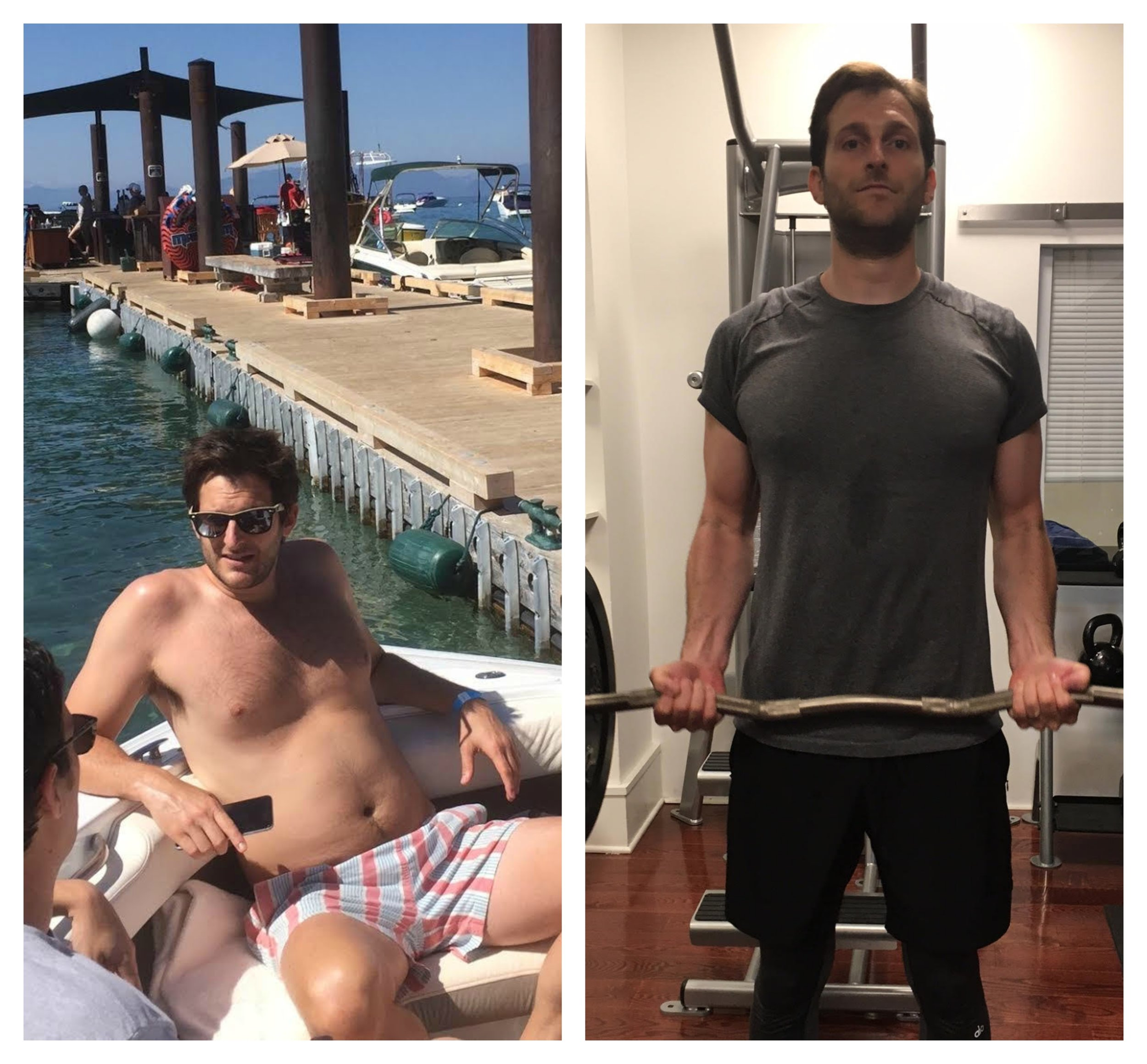 Before & After: May's #GymClassHero Brody Davis