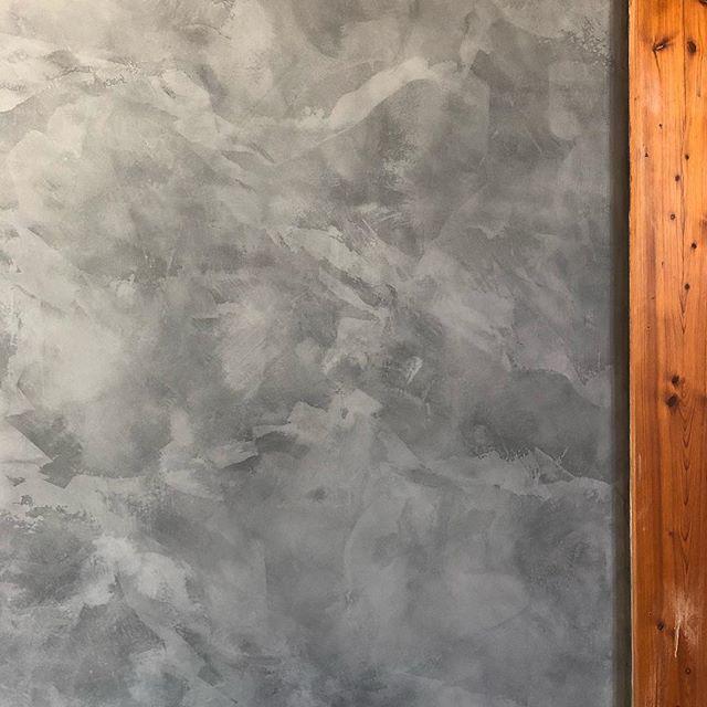 Marmorino KS @firenzecolor  #tada #venetianplaster #gray