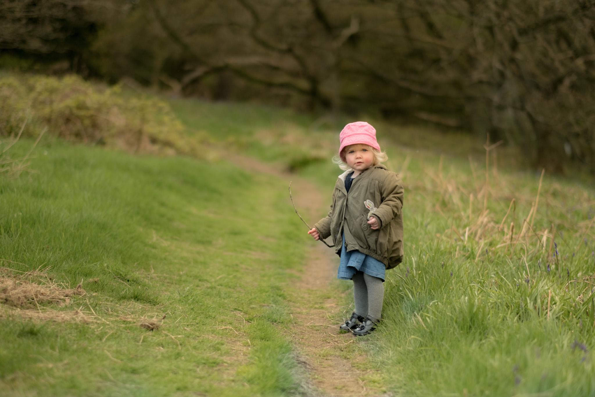 Woodland Children Photography