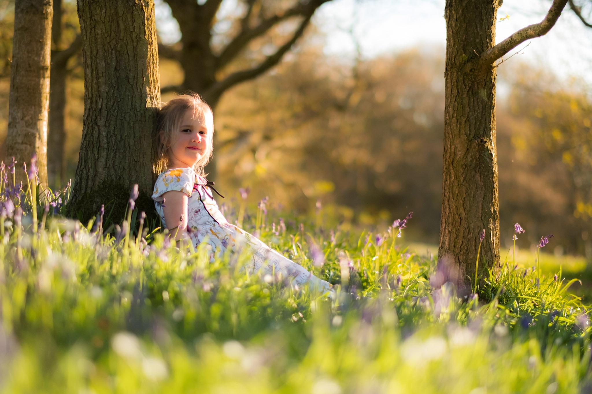 Woodland Childrens Photography