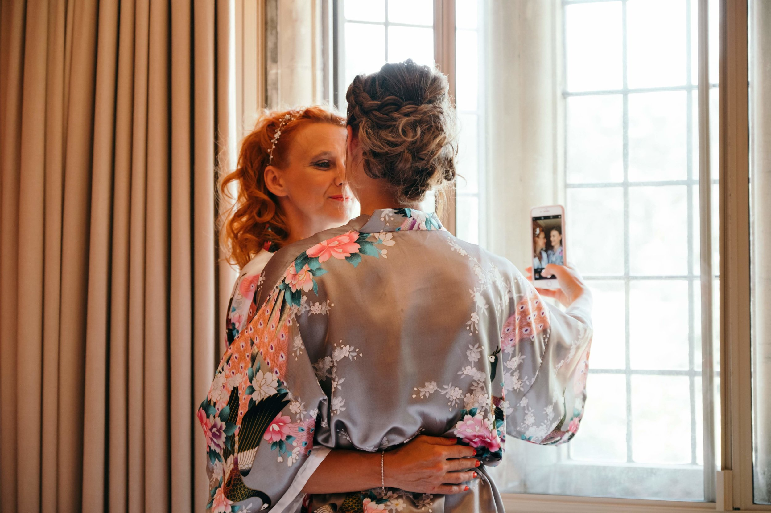 Gisborough Hall - Bridal prep