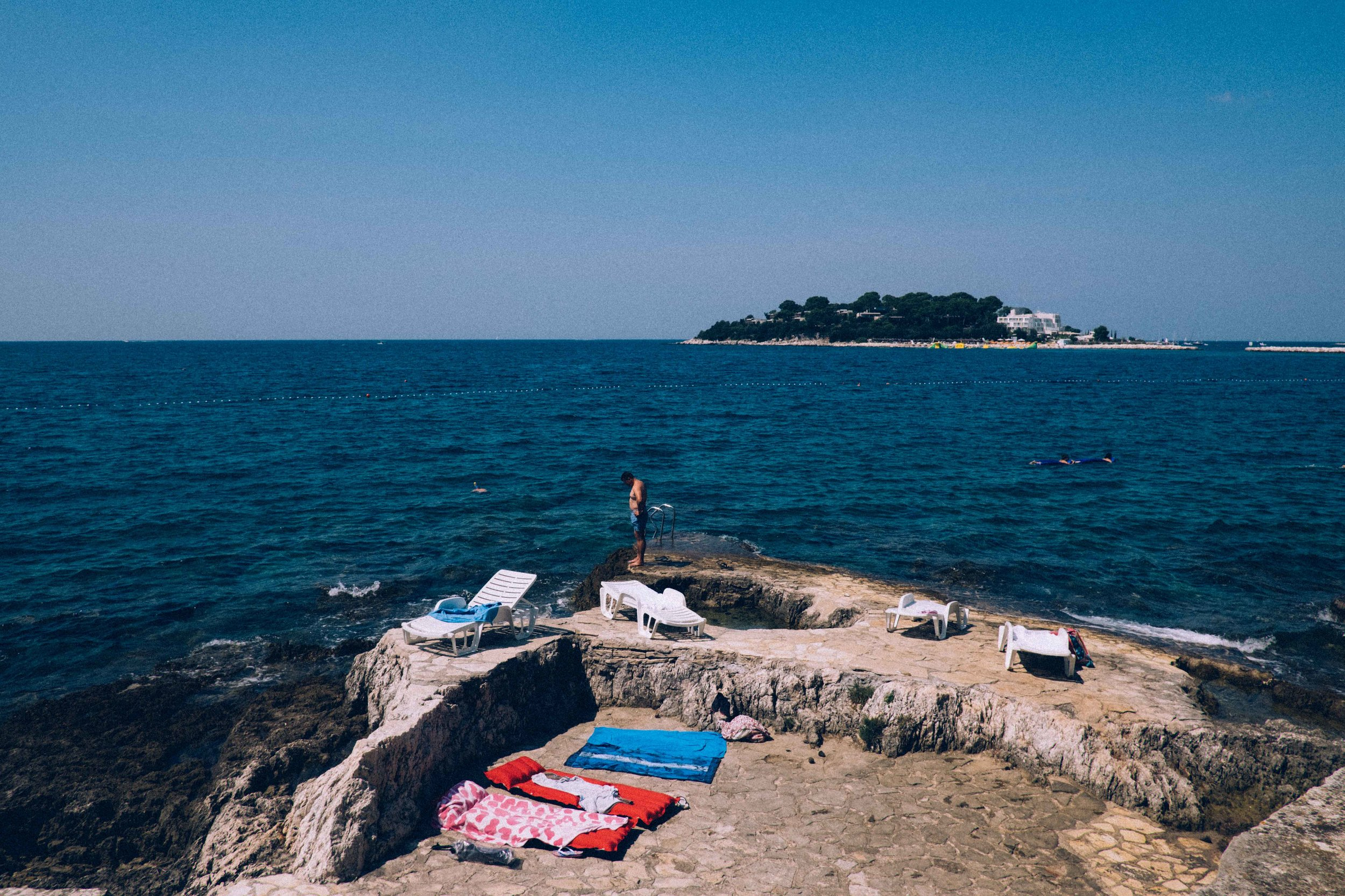 How the locals enjoy their coast line