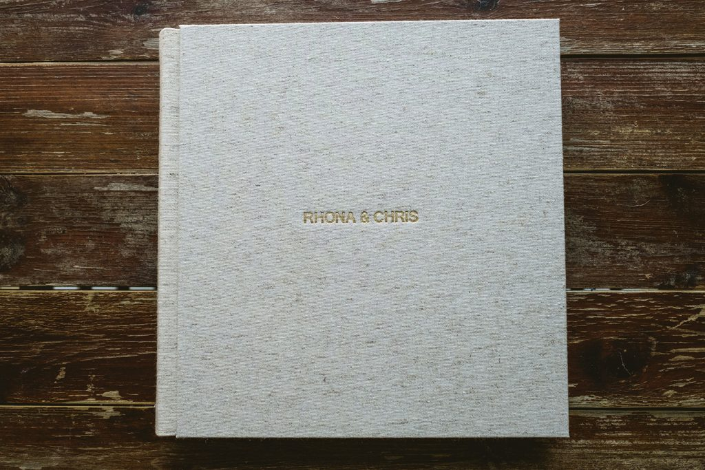 Fine art hessian album - Prices start at £330