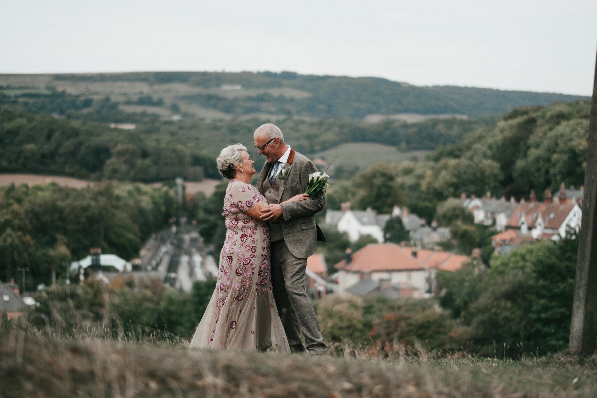 North Yorkshire Moors Railway Wedding Photographer