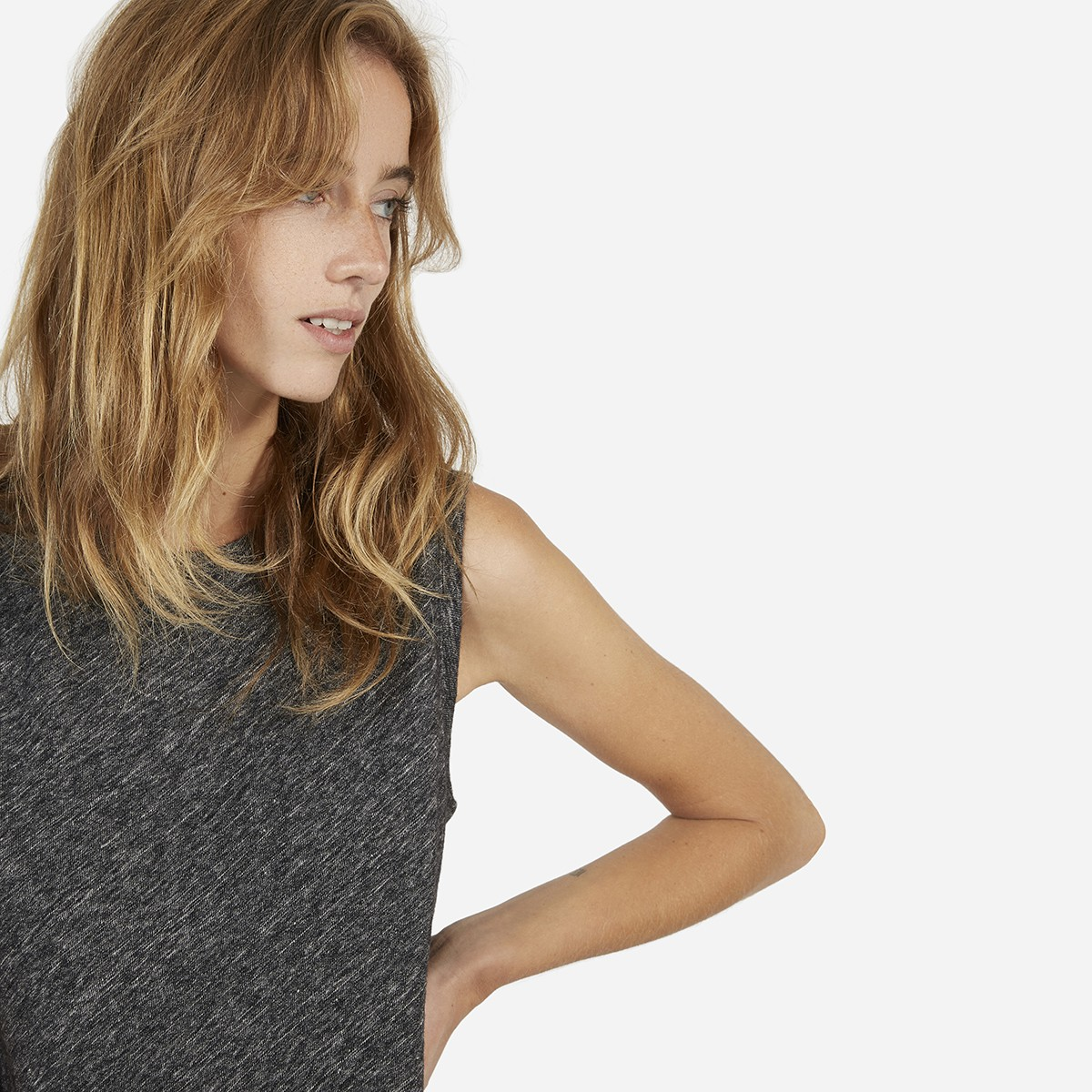 Everlane- The Sweater Muscle Tee