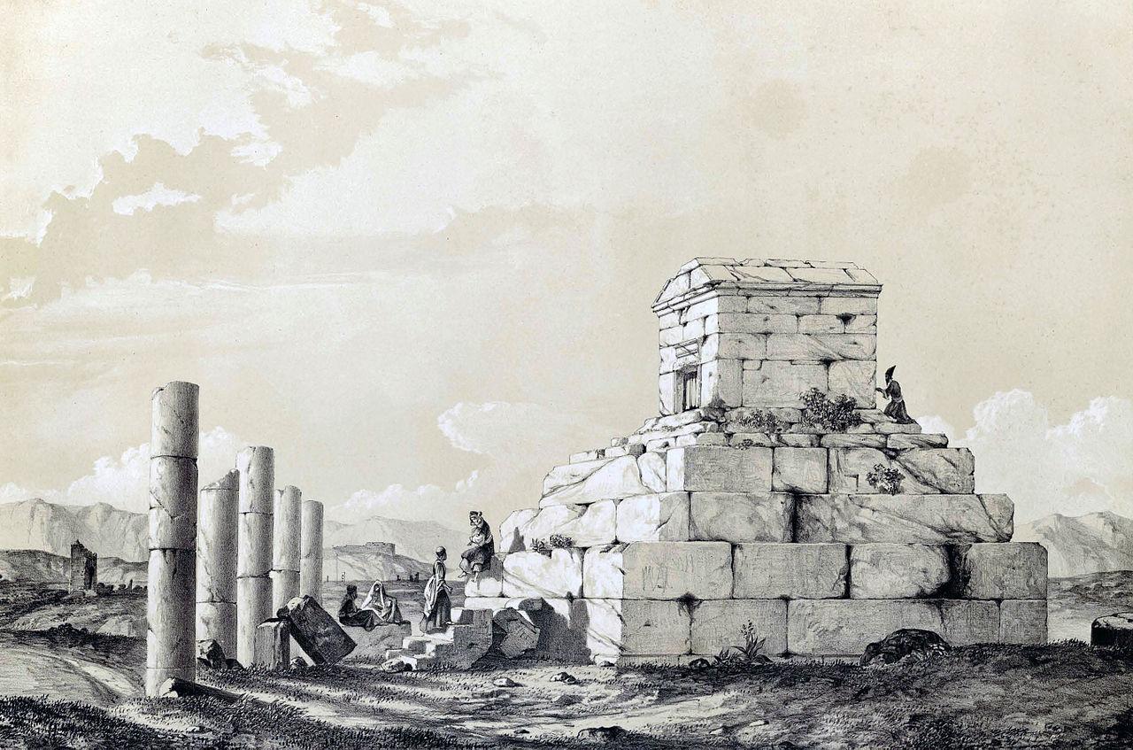 Passargade, by Eugène Flandin, 1840