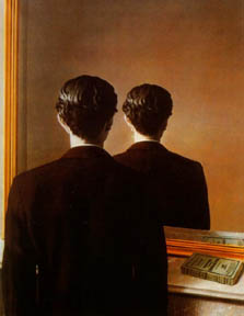 Not to be Reproduced - Rene Magritte, 1937