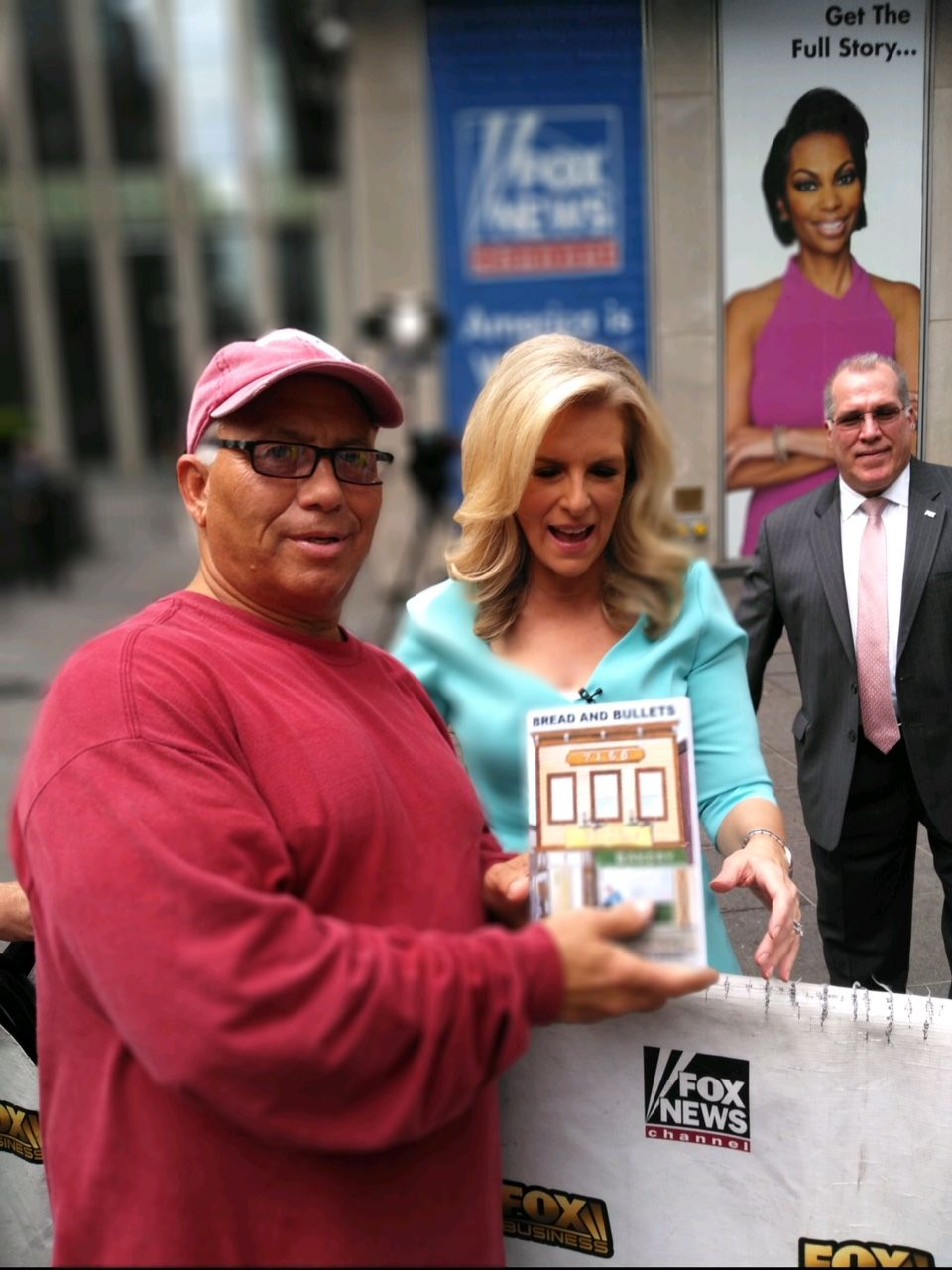 Rosario and Janice Dean at the Fox Studios in New York City