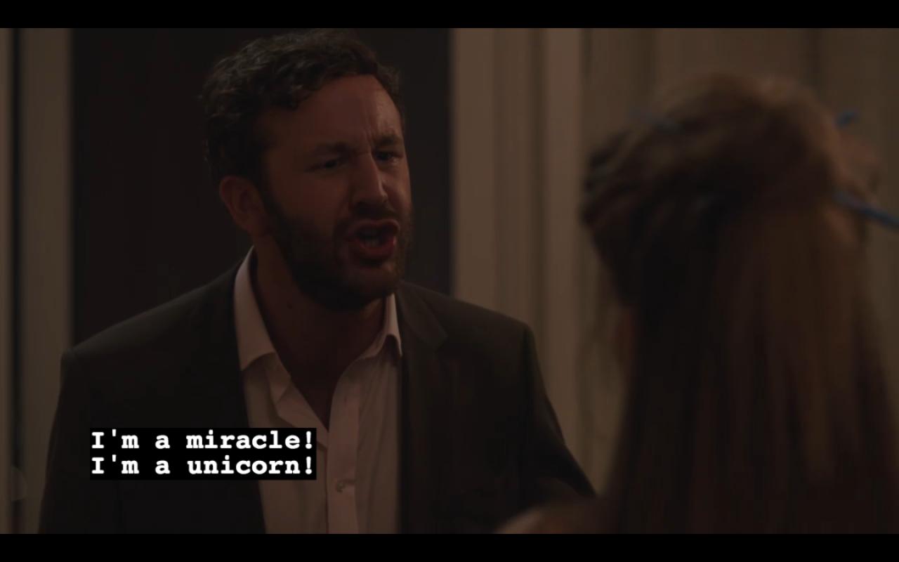 """""""I'm a miracle! I'm a unicorn!"""""""