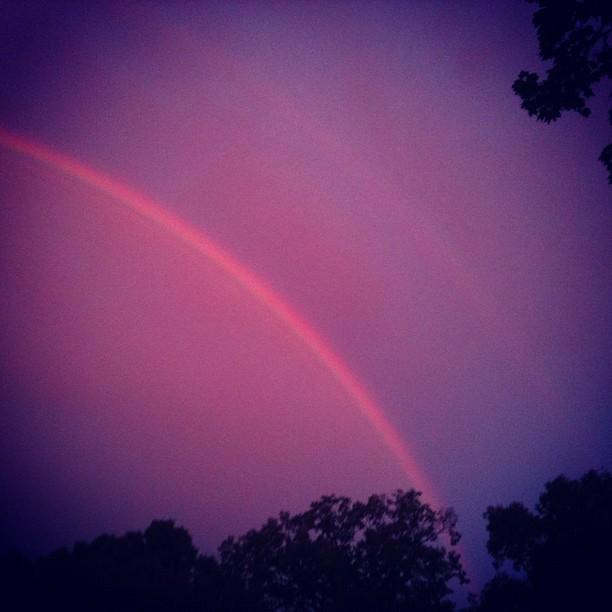 Double Rainbow! (Taken with  Instagram )