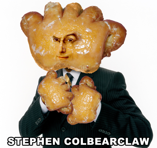 breadpeople :     Stephen Colbearclaw (Suggested by Andrea M)