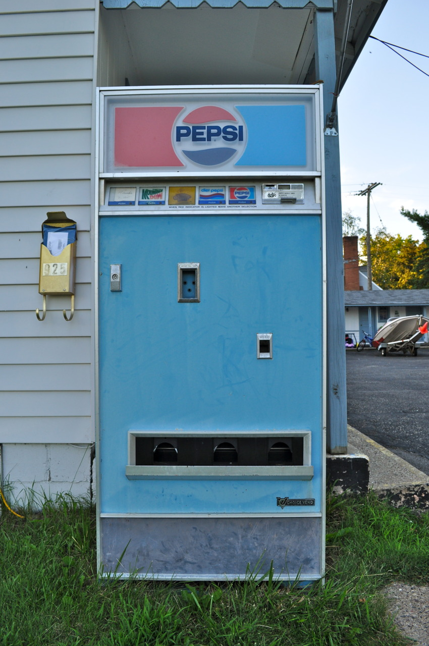 Item 1 in my collection of vending machine photos.