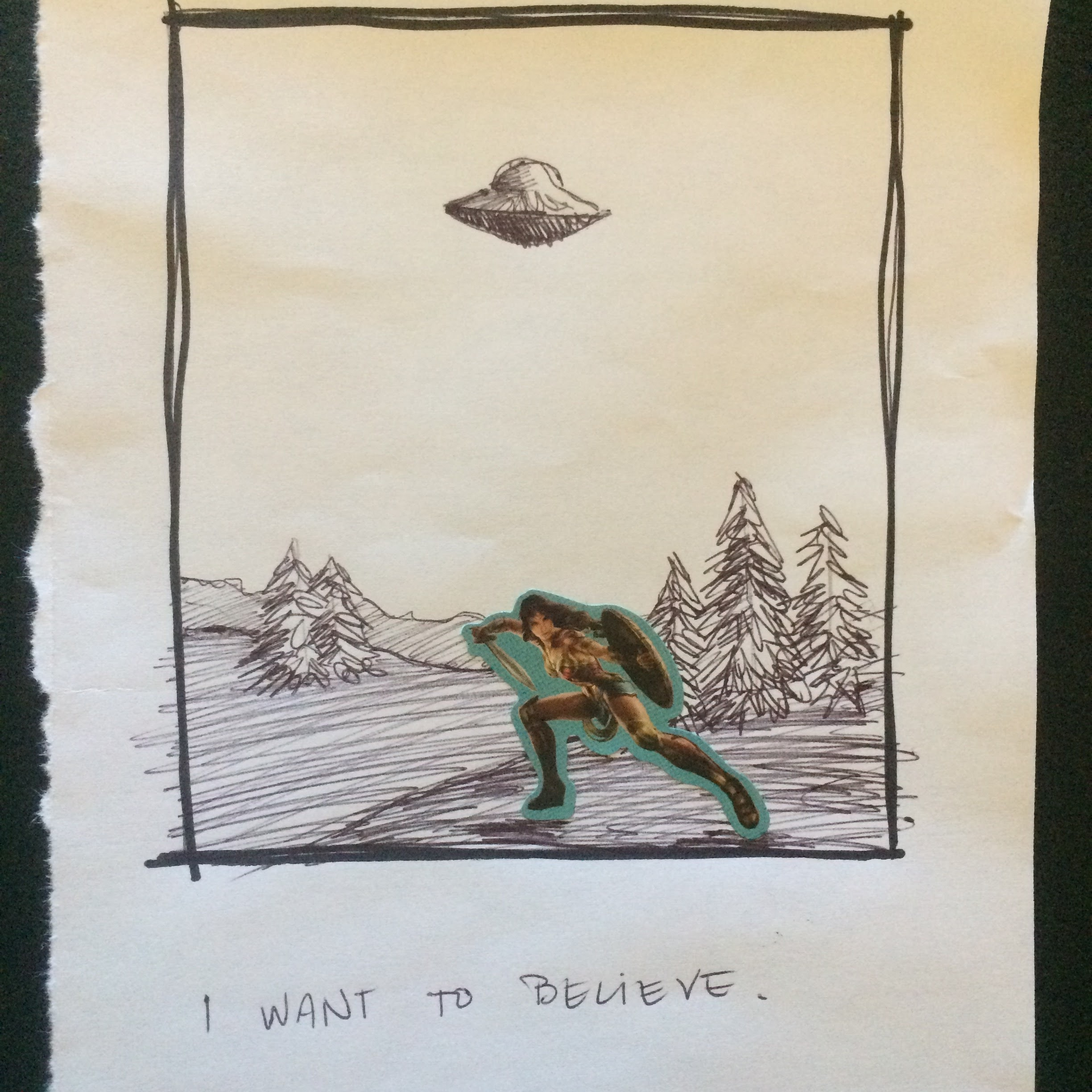 48. September 10, 2017 - I want to believe.
