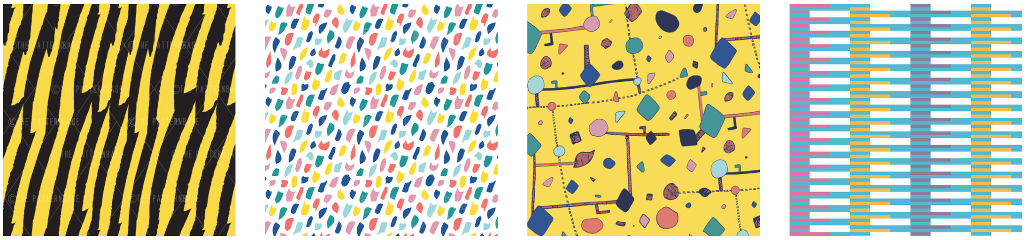 Shop exclusive print, pattern & textile designs