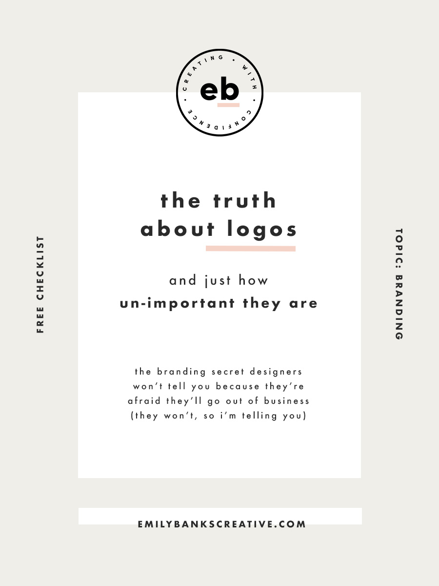 Wanna know a secret that most designers won't tell you when you're just starting your business up? They're afraid they'll go out of business if they admit this to you, but I'm not.  Click through to find out - it's a big one!