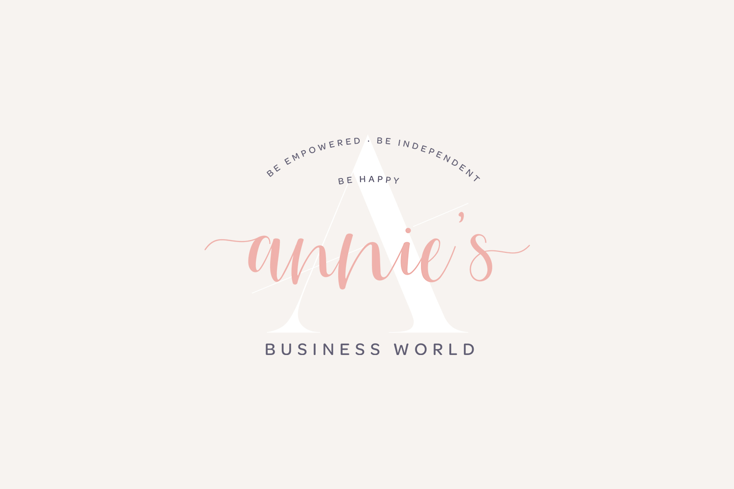 Annie's Business World - Starter Branding by Emily Banks Creative