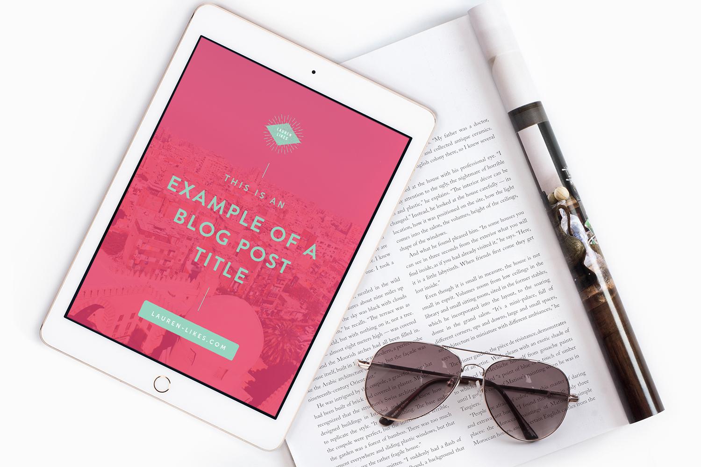 Lauren Likes - Starter Branding by Emily Banks Creative