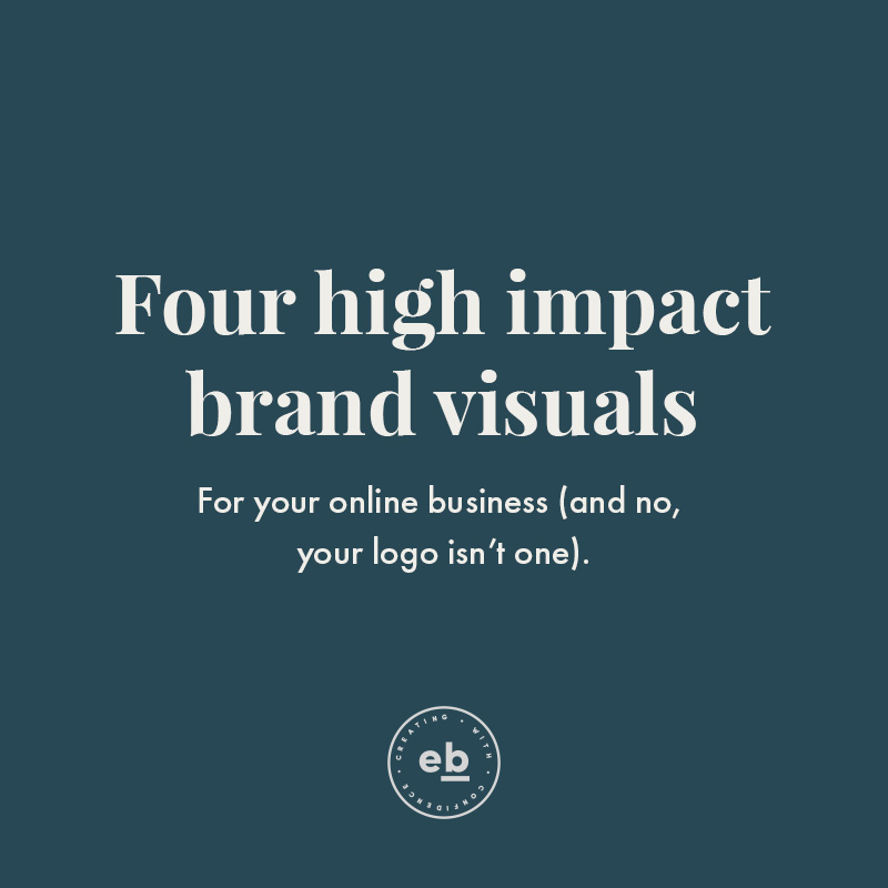 Four High Impact Brand Visuals for Online Business in 2019 and Beyond - Read More at EmilyBanksCreative.com