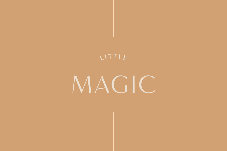 Little Magic - Starter Branding by Emily Banks Creative