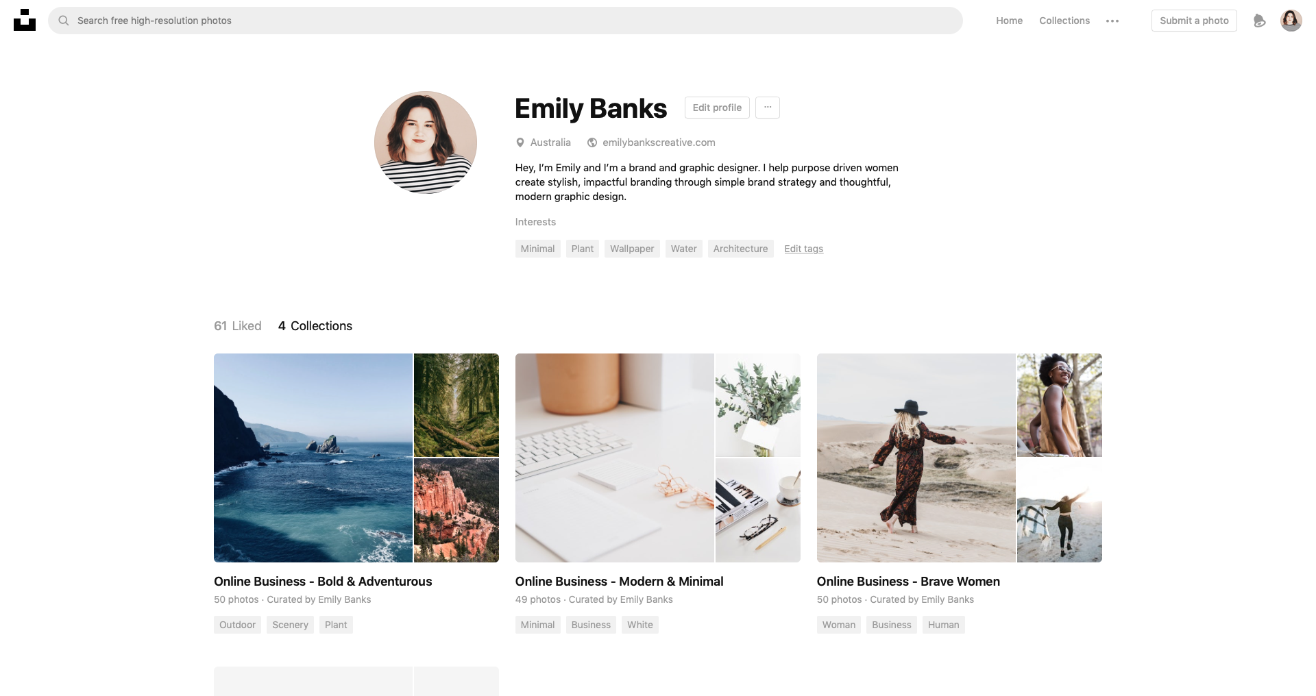 How to build a free stock library of photos for your business - Emily Banks Creative
