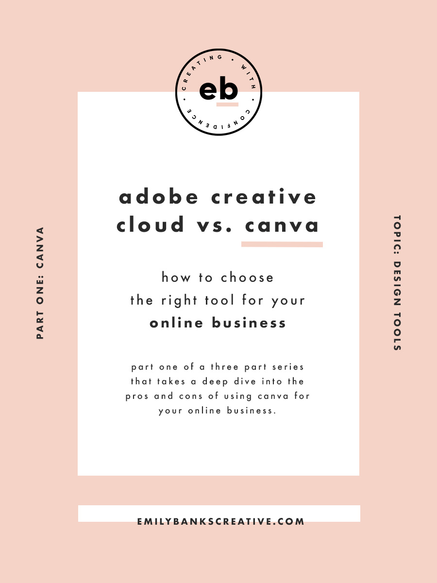 Adobe Suite vs. Canva: Which one is right for your online business? | Emily Banks Creative