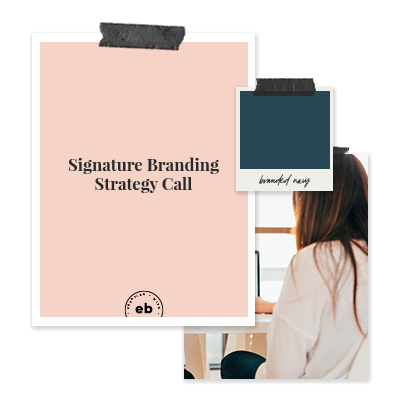Brand Strategy Coaching Call - To kick things off we'll meet for 90 minutes to discuss all things strategy, where I'll get a deep understanding of your vision and audience. Then, we'll make a plan for how we can best use your values, voice and the visuals we'll create together to build the experience your clients deserve.