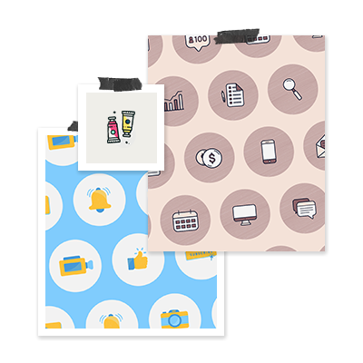 Custom Icon Illustration - We'll design a set of (up to x6) icons specific to the kinds of content and concepts you commonly discuss. They'll help you communicate ideas on a visual level and add to that feeling of exclusivity.