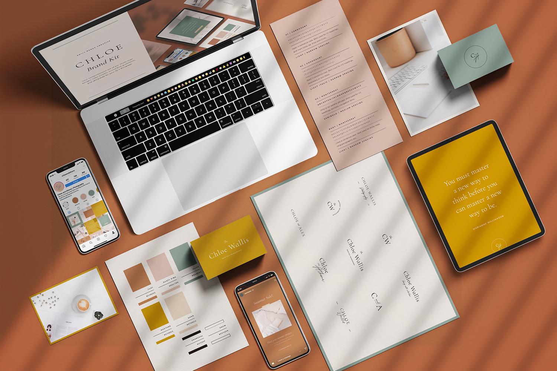 Chloe - Brand Kit | Emily Banks Creative