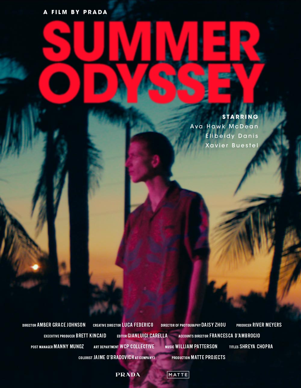 PRADA - Summer Odyssey short film