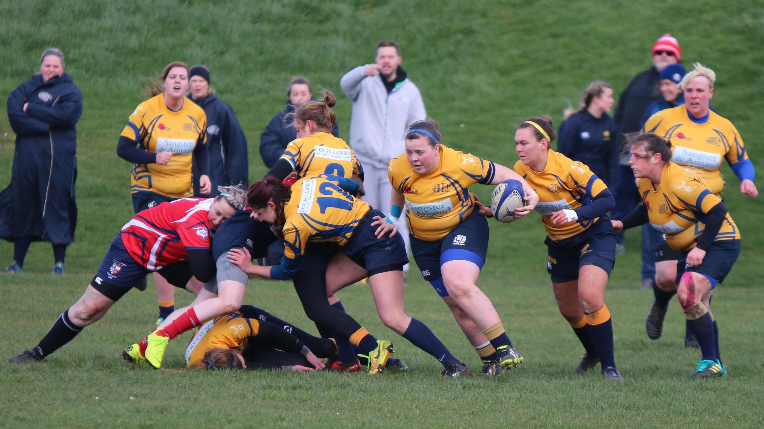 Action from Peterhead v Garioch, Image by Gareth Falls