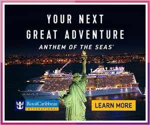 Check out our custom webpage for Royal Caribbean's Anthem of the Seas!