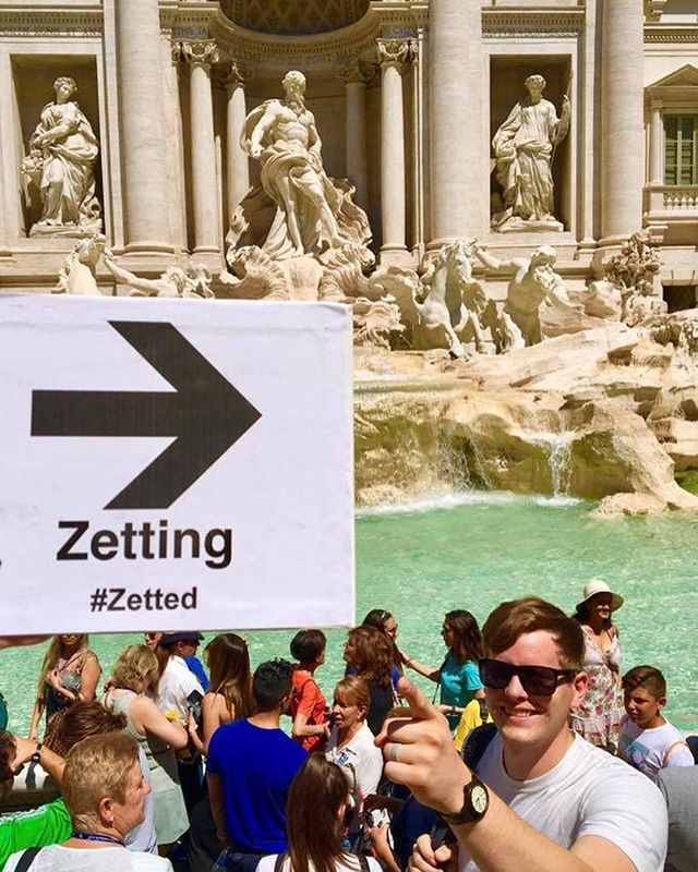 The Cantwells had a fantastic time #Zetting across Italy! Where will YOU go? #Zetted  #ZettingTravel #Rome #Italy #TreviFountain
