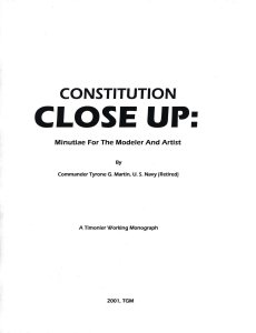 Constitution Close Up: Minutiae for the Artist and Modeller