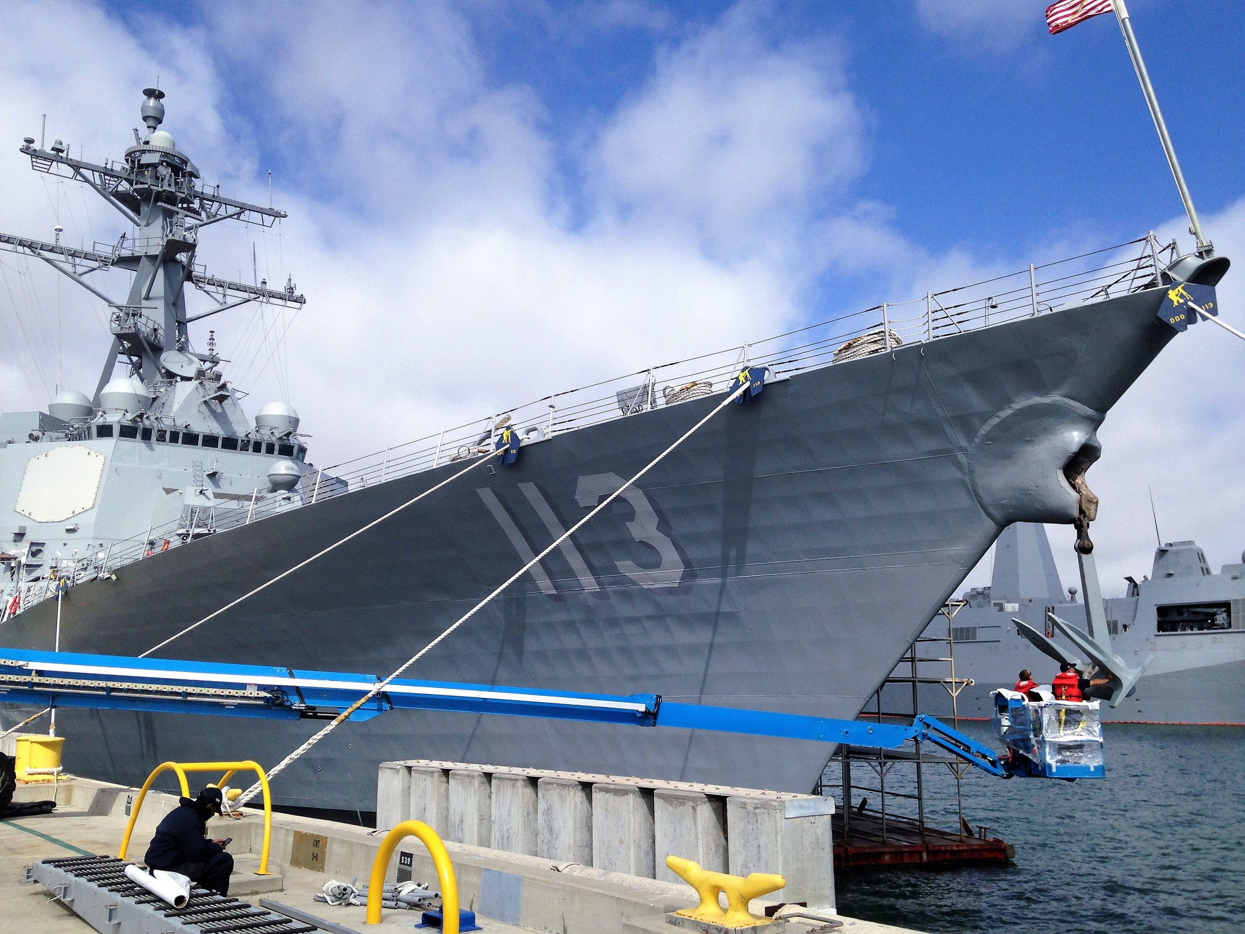 USS JOHN FINN (DDG-113)