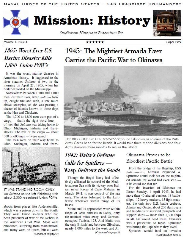 Vol I, Issue 3 - Apr. 99