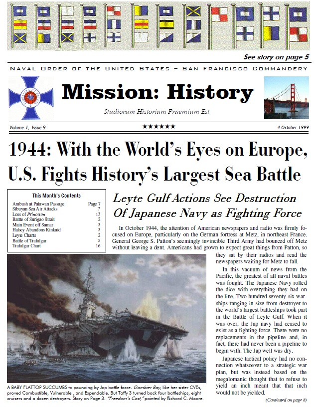 Vol I, Issue 9 - Oct. 99