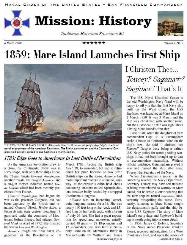 Vol II, Issue 3 - Mar. 00