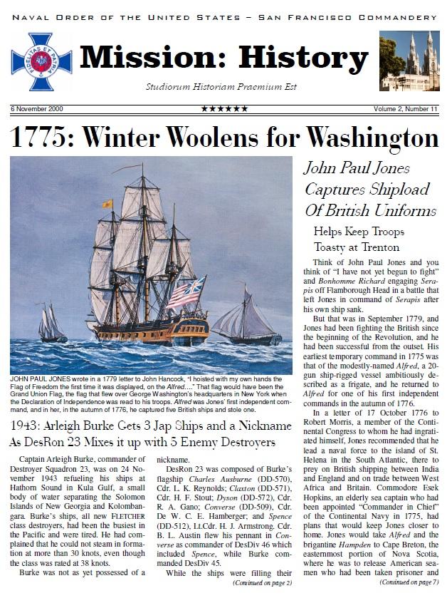 Vol II, Issue 11 - Nov. 00