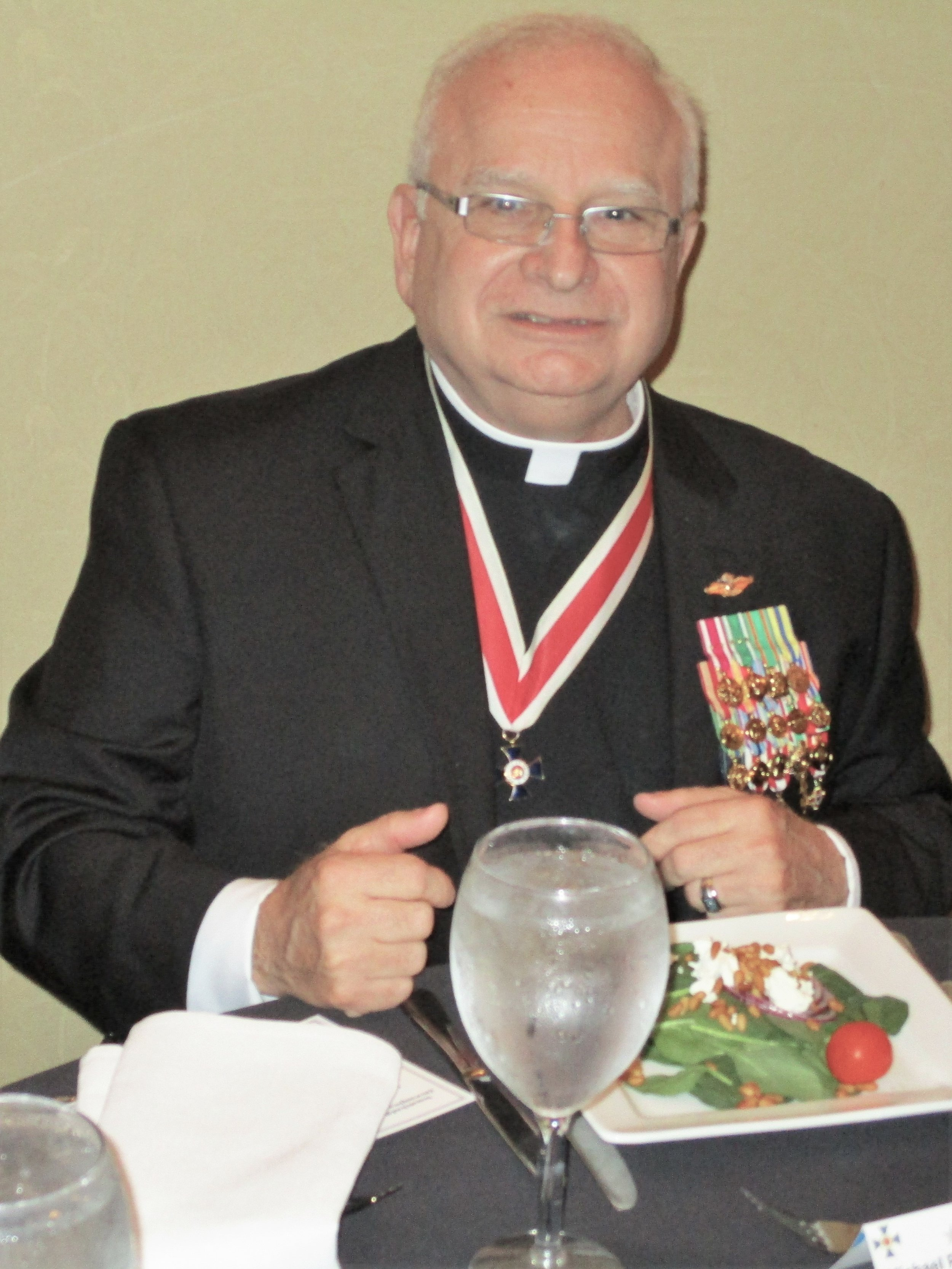 Chaplain General, CDR Michael Zuffoletto