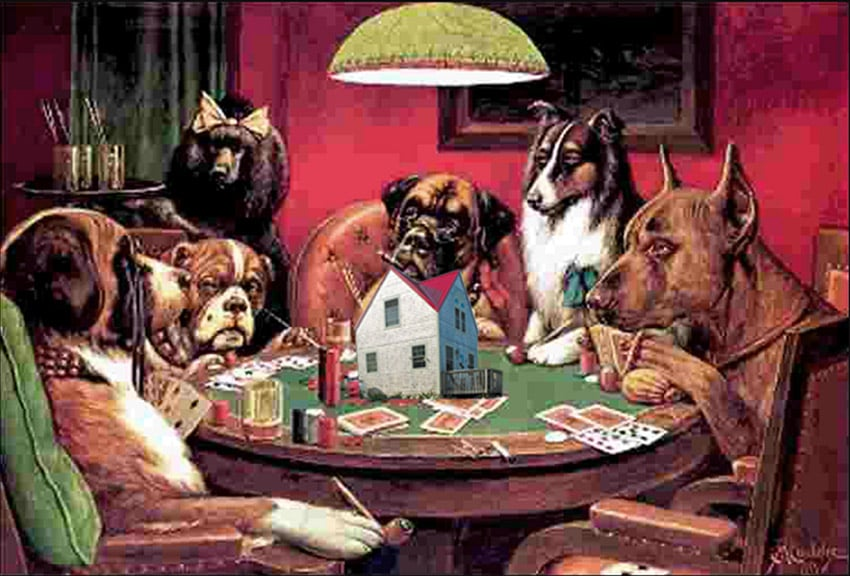 Business Analysis Training - Dogs Playing Poker